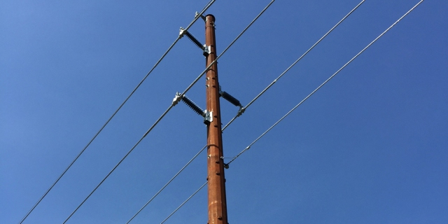 Wood Power Poles Sizes : Wood distribution pole sizes pictures to pin on pinterest